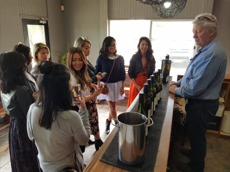 Group tour of the Macedon Ranges