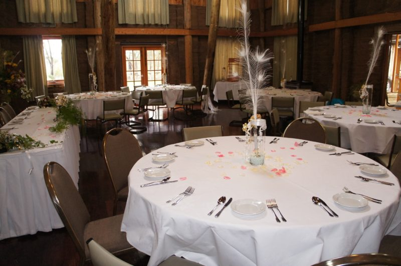 HIRL, lovely rustic venue for weddings