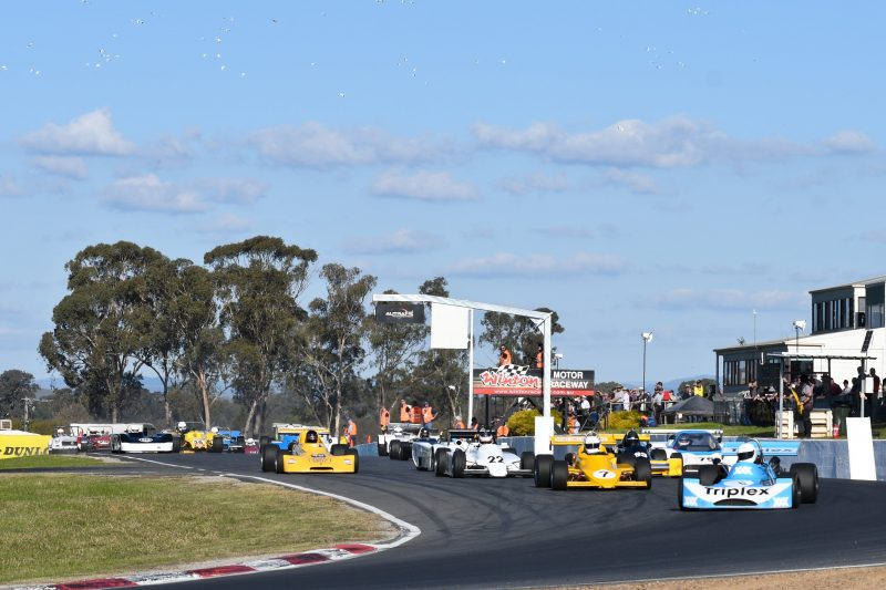 Australia's most popular and longest-running historic race event for cars, motorbikes and sidecars.