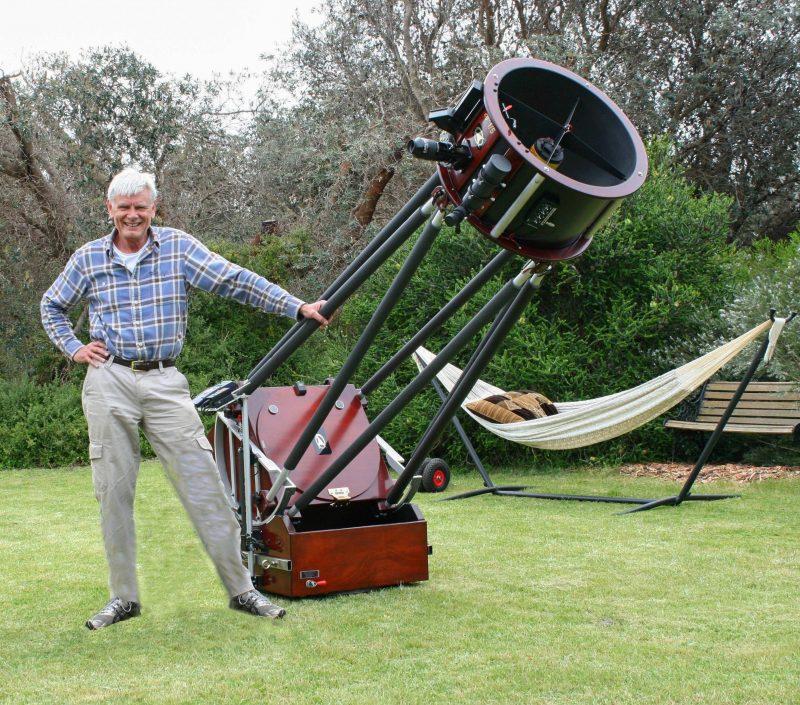 "Astro Tours Host With Premium 20"" f5 Dobsonian Telescope"