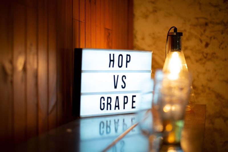 Hop vs Grape