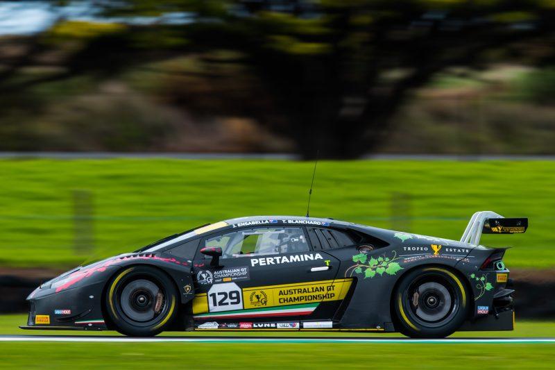 Trofeo Motorsport in action