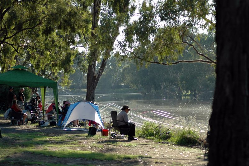 Horsham Fishing Competition - Wimmera River