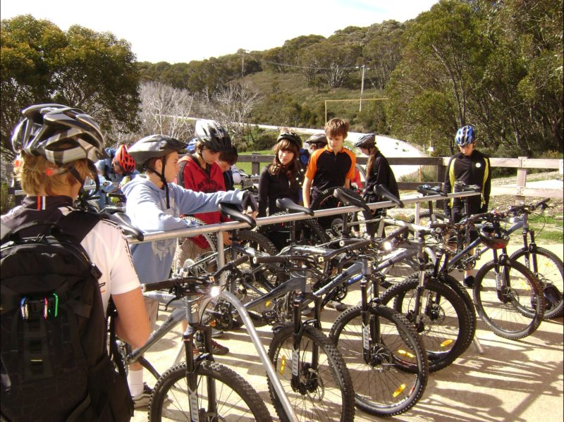 Mountain biking for schools and groups