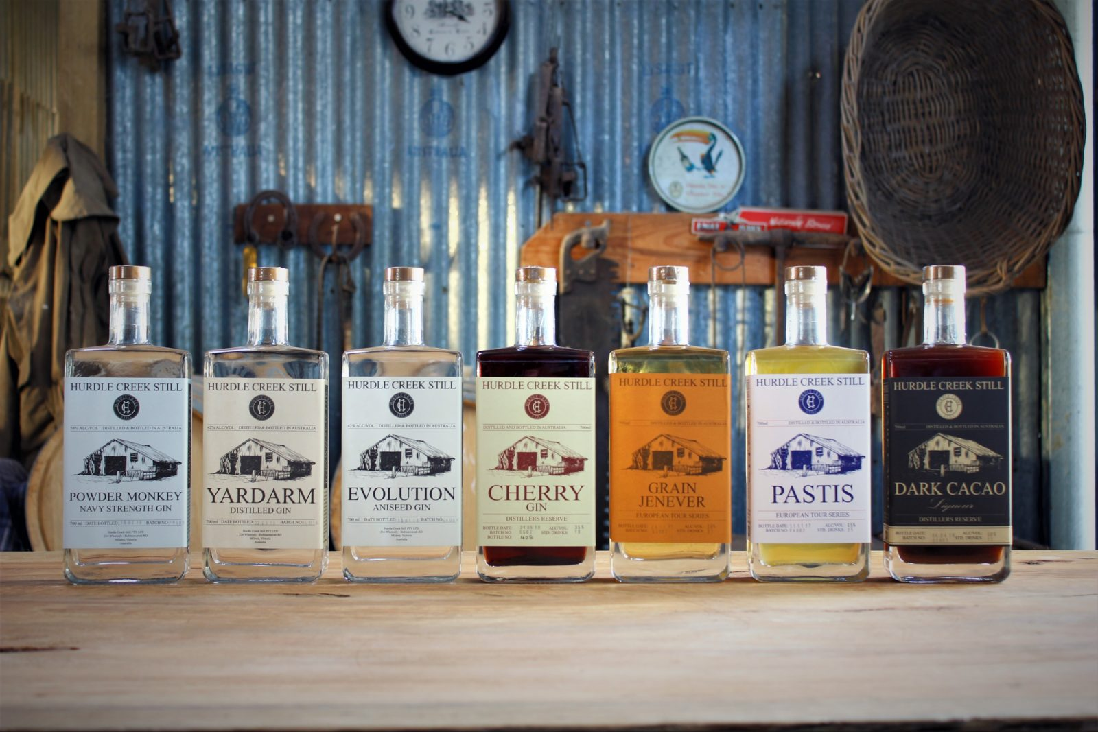 Hurdle Creek Still Products - Distilled on site