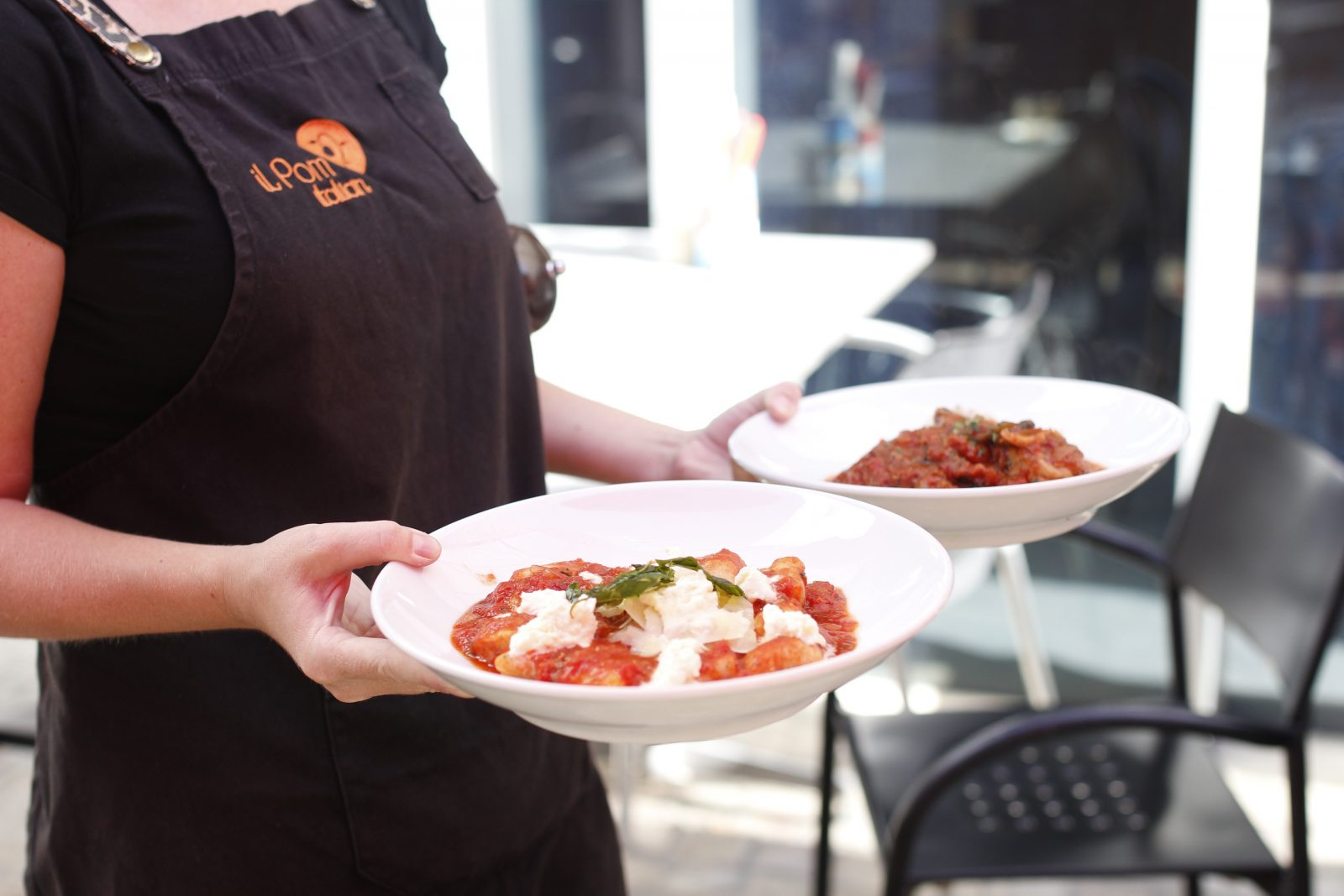 Serving Italian favourites at Fed Square