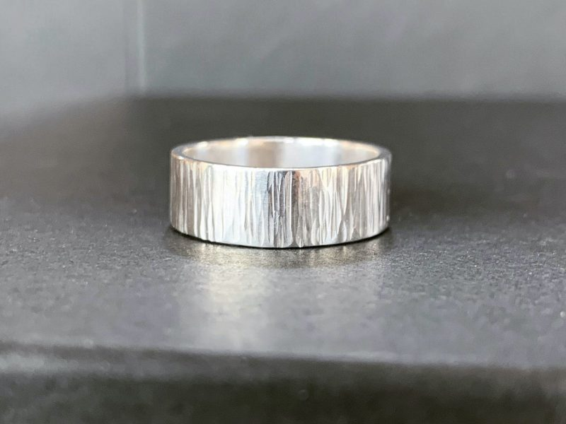 Hammer Textured Ring - Intensive Beginners Jewellery Making Short Course | Pod Jewellery