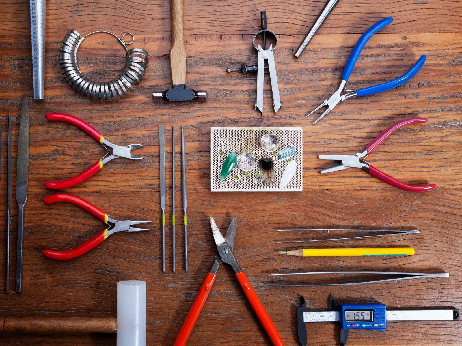 Jewellers Tools - Intensive Beginners Jewellery Making Short Course | Pod Jewellery