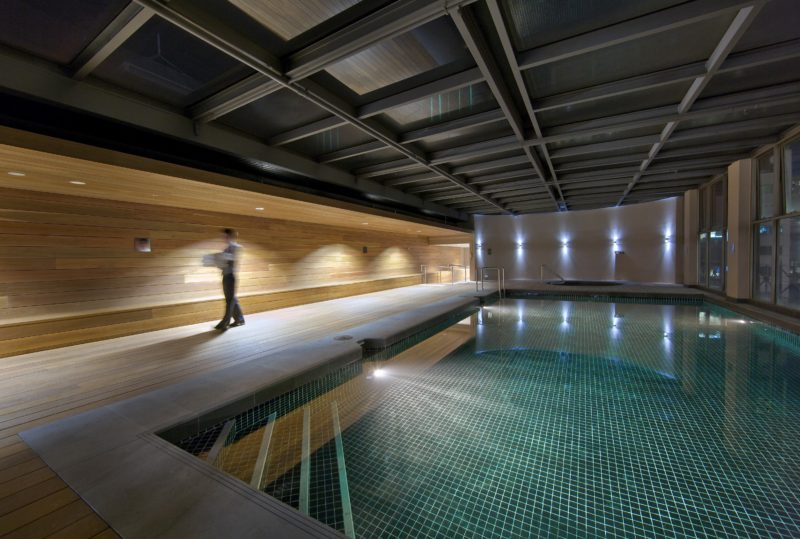 Indoor swimming pool, spa, sauna, gym