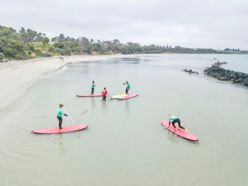 Introduction to Stand Up Paddleboard lesson