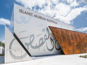 Front facade of Islamic Museum of Australia
