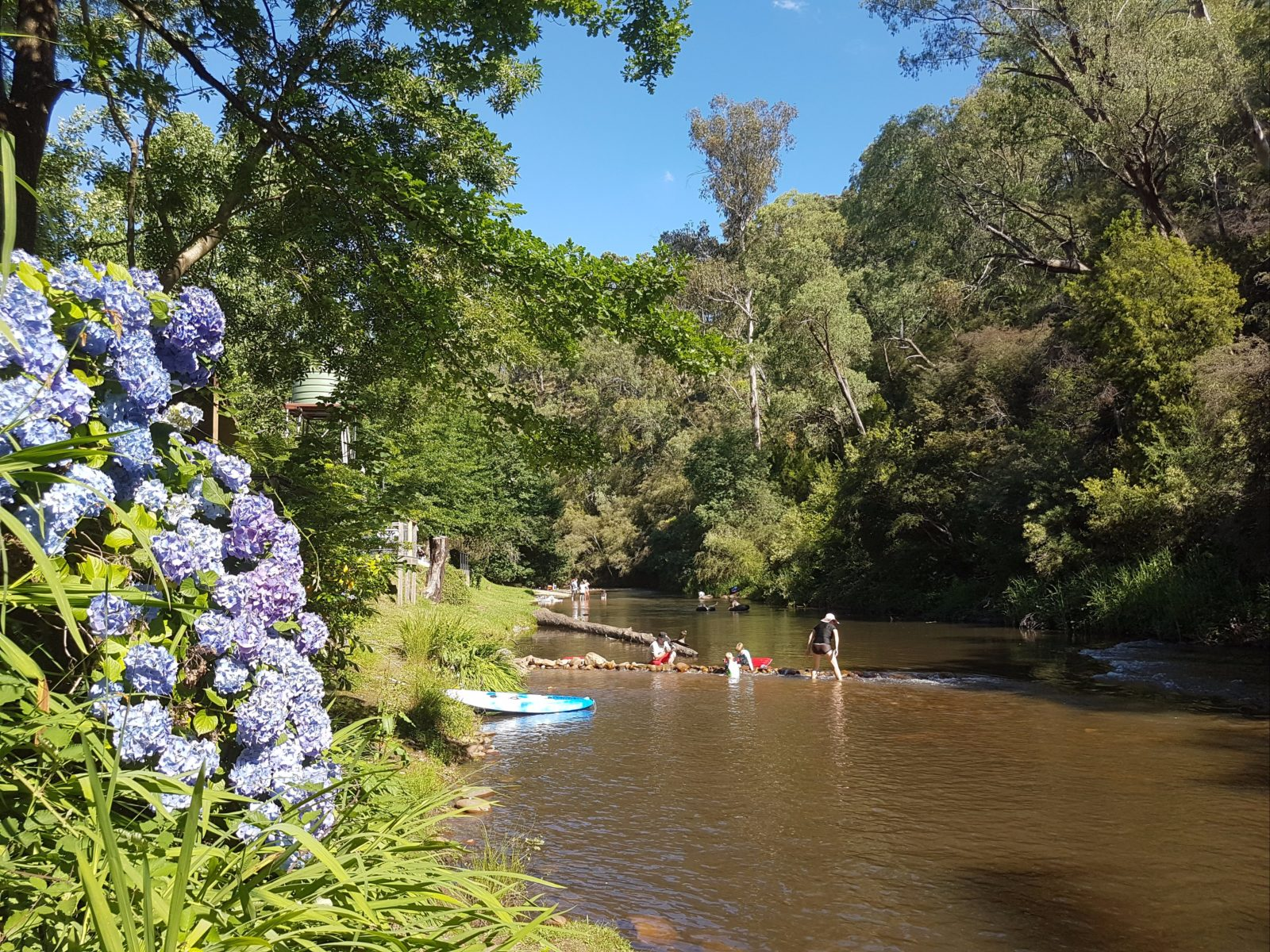 Jamieson River perfect weekend get away Maelbourne river fun high country victoria australia caravan