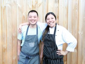 Chef Ha Nguyen and Chef Tamaki