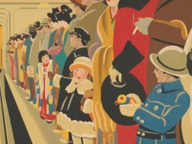 Hisui Sugiura The first subway in the East 1927