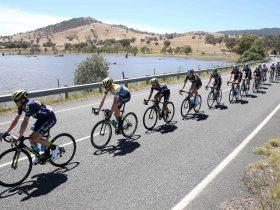 The Jayco Herald Sun Tour rides to Beechworth