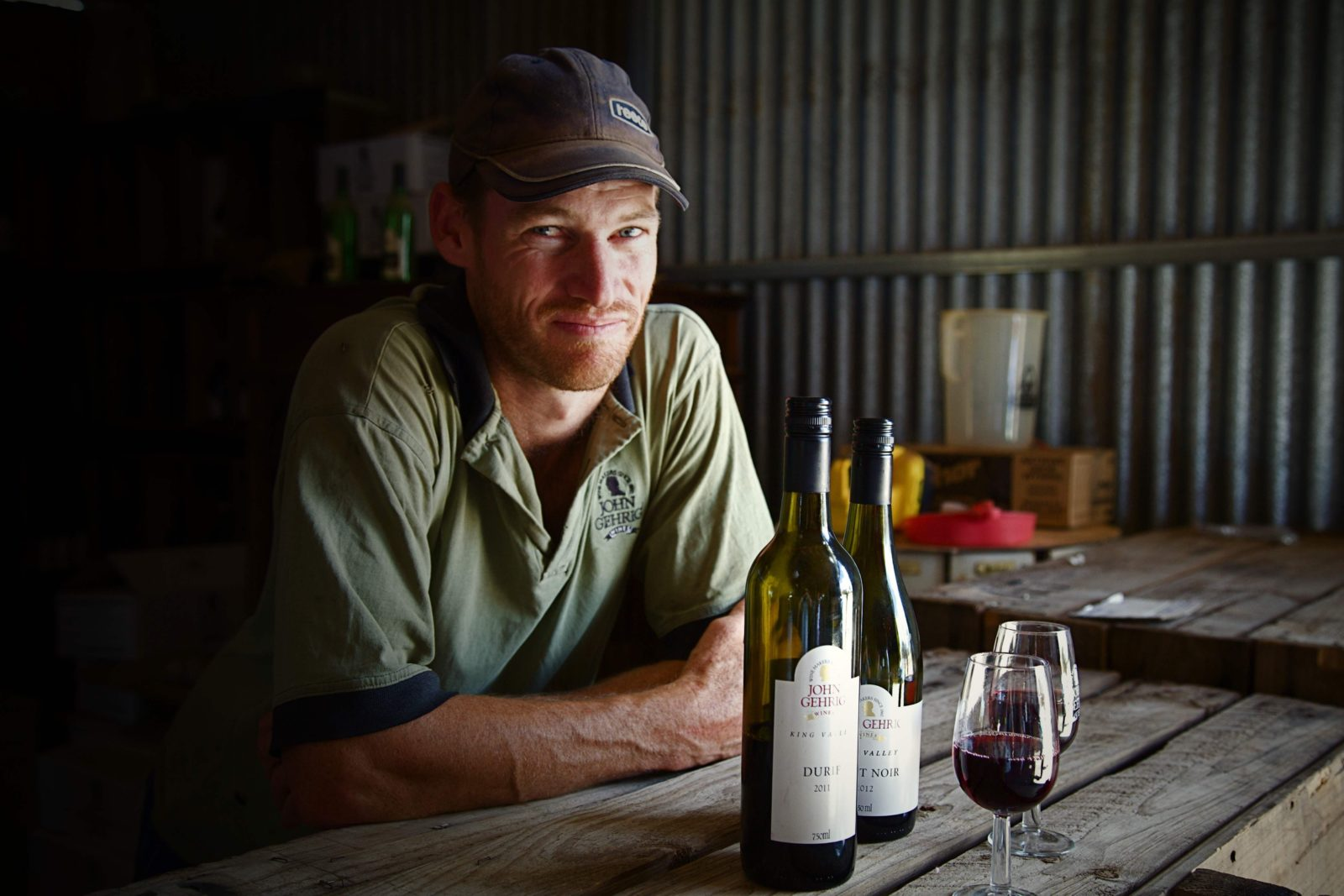 Winemaker Ross Gehrig