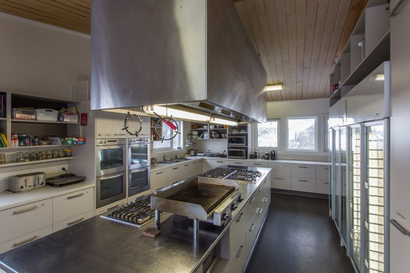 Kalyna Ski Club Kitchen