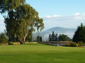 Kanga Tours View from the golf course to Mt Macedon