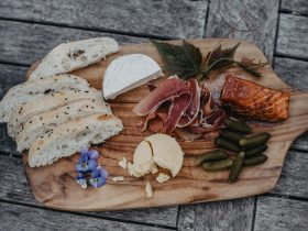 Grazing plates - choose local produce from the cellar door fridge
