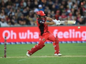 Aaron Finch for the Melbourne Renegades
