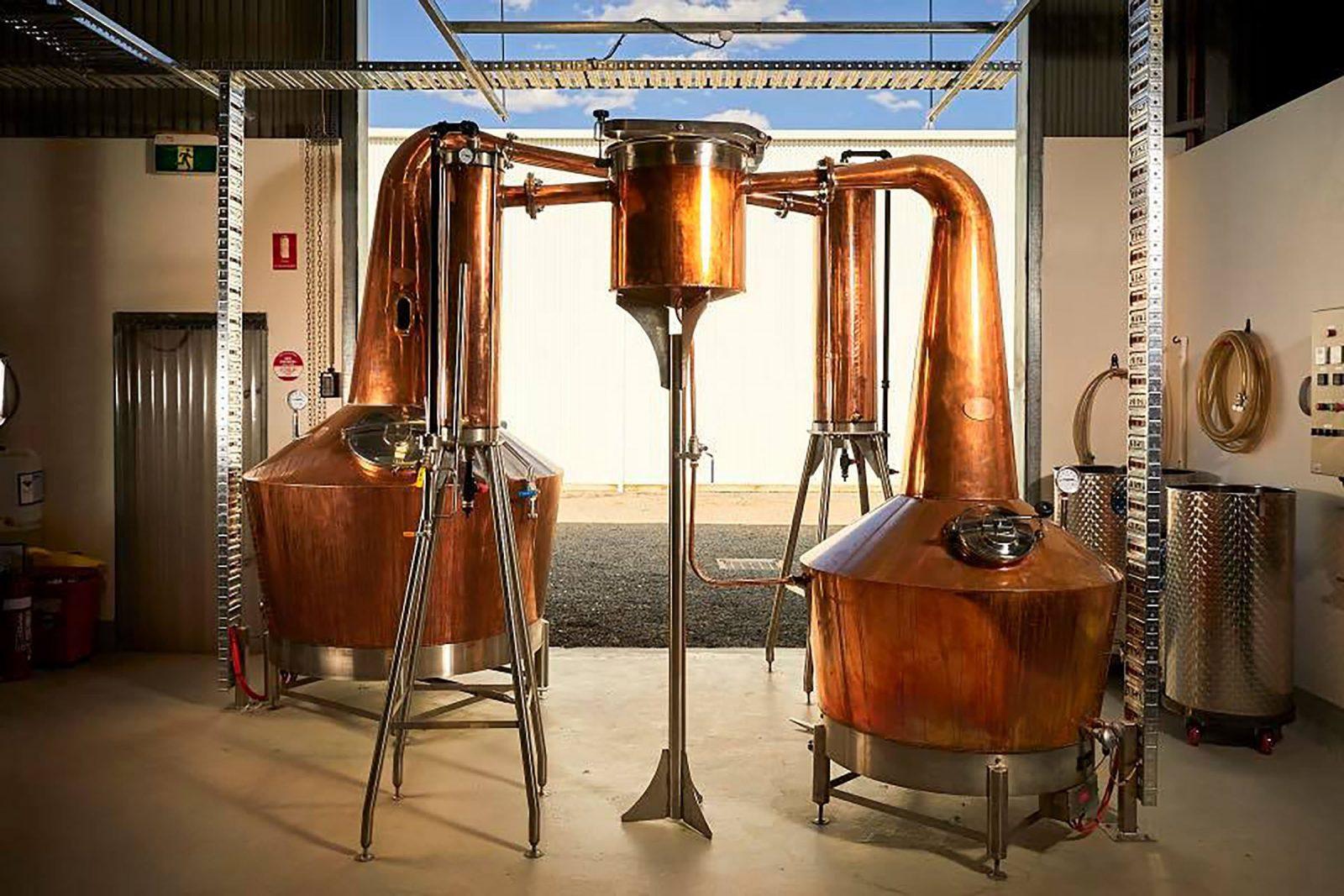 Visit Kilderkin Distillery in Ballarat for a distillery tour and a flight of gin