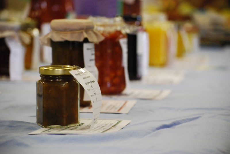 Preserves on show