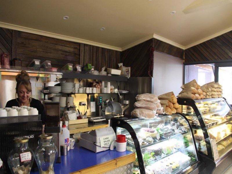 Interior - Counter & Coffee Machine