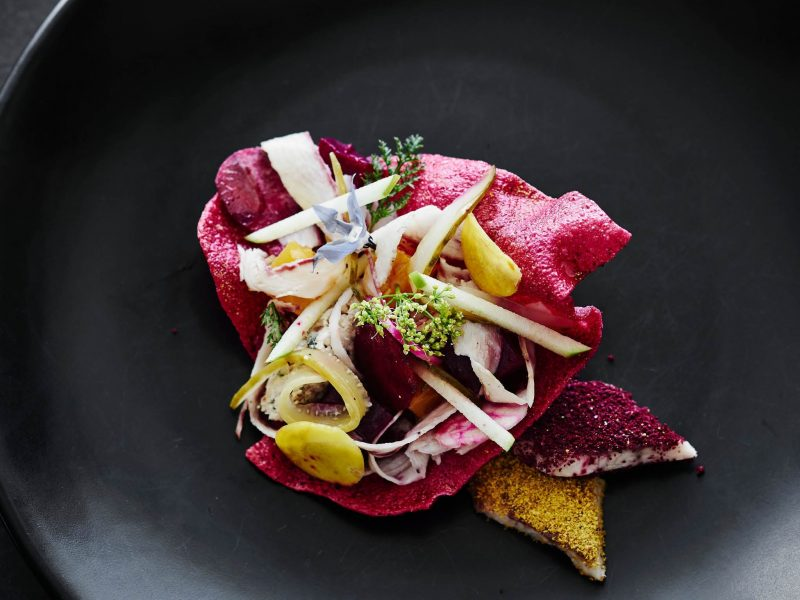 Beetroot at Lake House