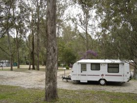 caravan sites in bush setting