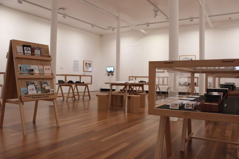'Self-Made: Zines & Artist Books, Touring exhibition State Library Victoria, 10 Aug - 20 Oct 2019