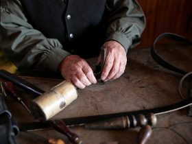 Belt making, Sovereign Hill