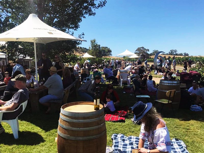 Hanging Rock Winery Lawn