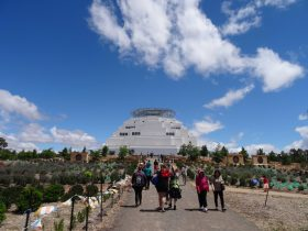 The Great Stupa building Bendigo