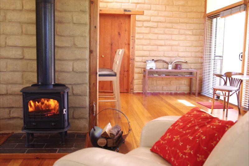 Wood fire Silver Wattle