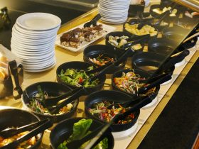 Fresh Salads Available At The Buffet