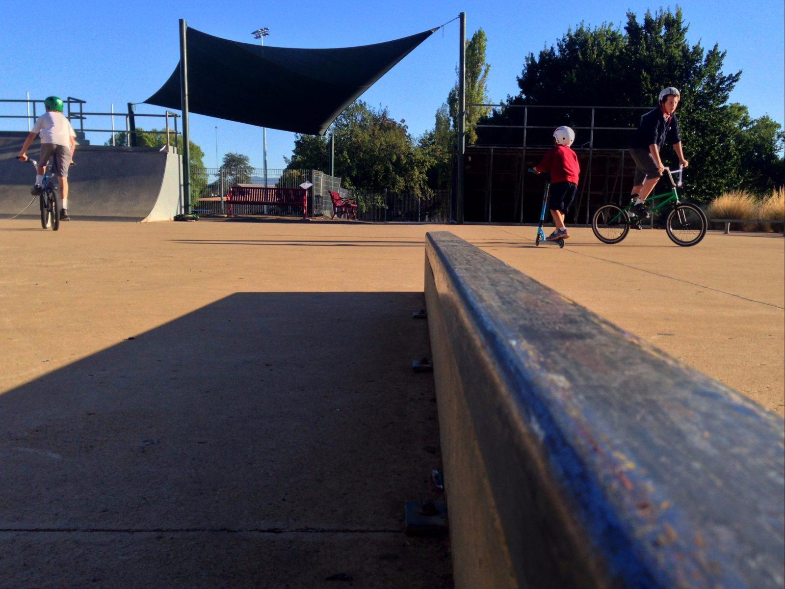 Skate Park kids