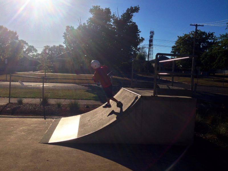 Skate Park quarter