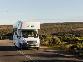 Maui motorhomes on the road