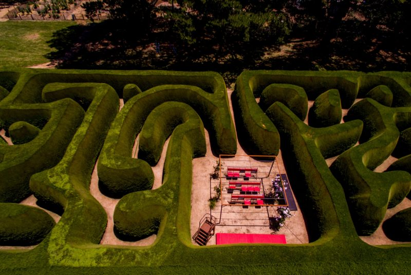 Maze House - Centre of maze