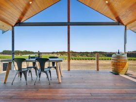 McGlashan Estate Luxury Eco Villas Balcony Vines view
