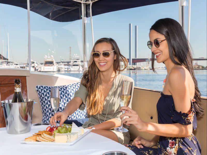 Enjoy a luxury cruise on Melbourne's Yarra River
