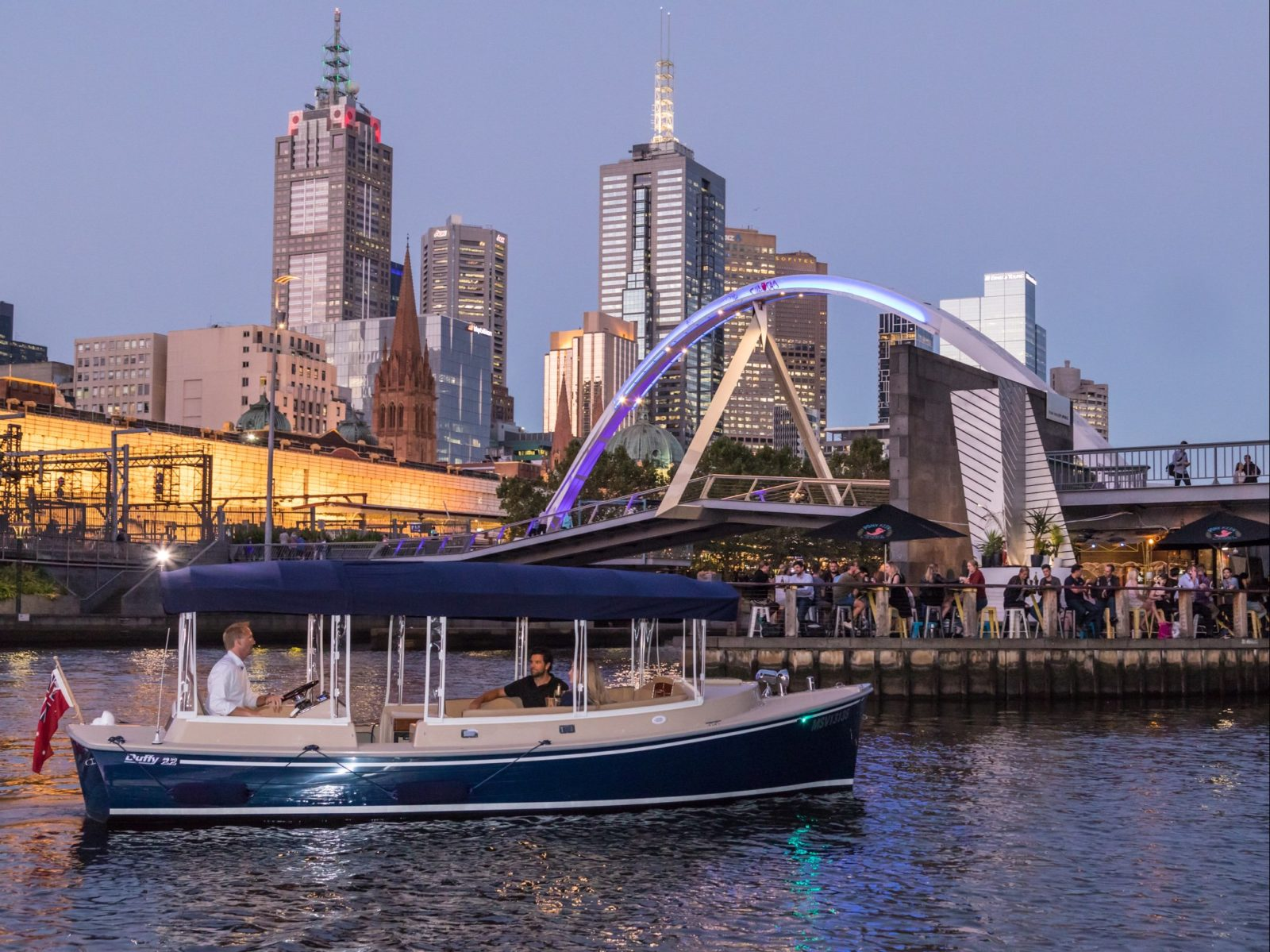 View Melbourne from a new angle on the Yarra River