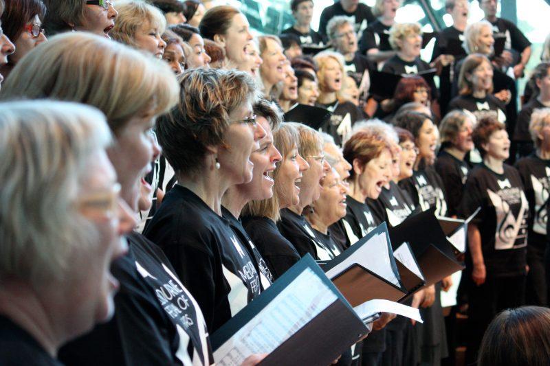Festival singers