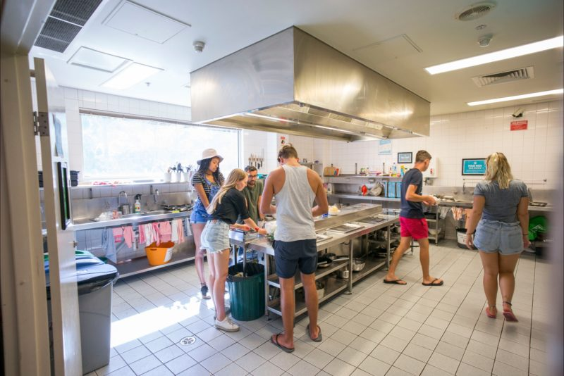 Melbourne Metro YHA Kitchen