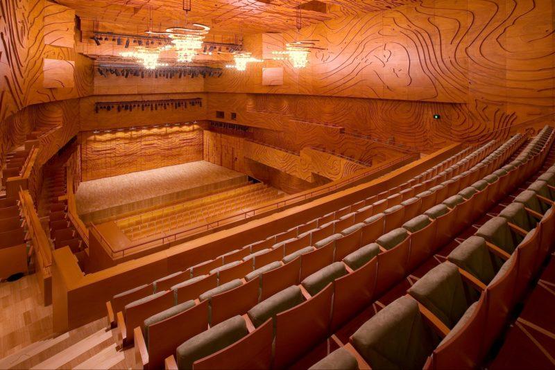 Melbourne Recital Centre, interior