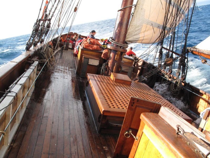 Cruising across Bass Strait immerse yourself in history exploration and adventure.
