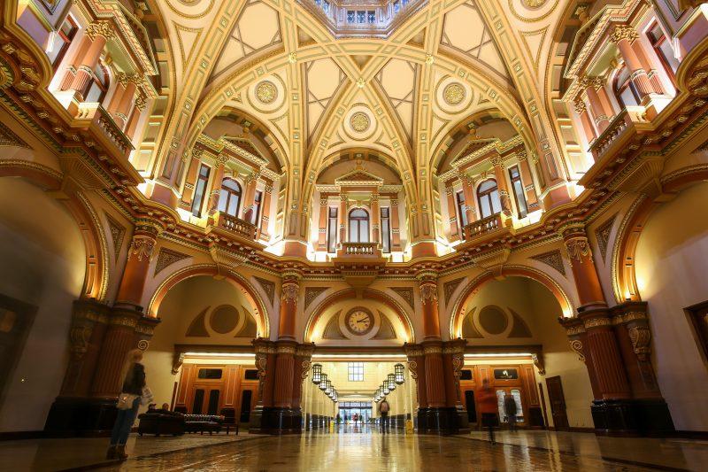Inside the original Banking Chamber