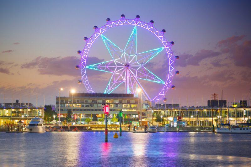 Melbourne Star's Light Show