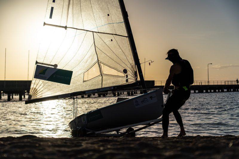 Finn at Sunset - Rio Olympian Jake Lilley