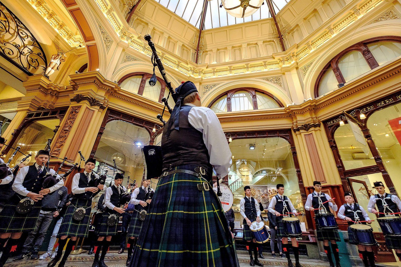 Scotch College Pipe Band